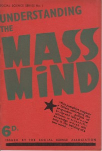 Understanding the Mass Mind by Richard Tatham